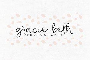 Gracie Beth Premade Logo Template
