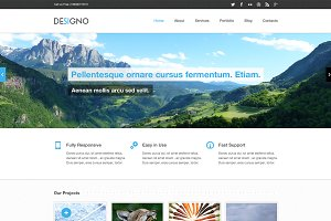 Designo - Corporate PSD Theme