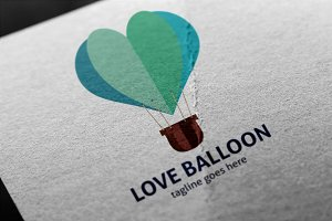 Love Balloon Logo