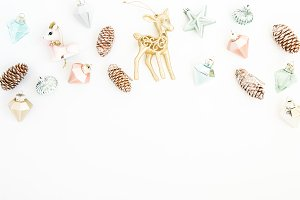 Ornaments Styled Stock Photography