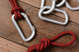 Rope and Carabiners