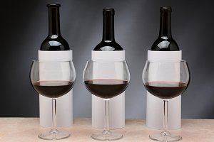 3 Bottles for a Blind Wine Tasting