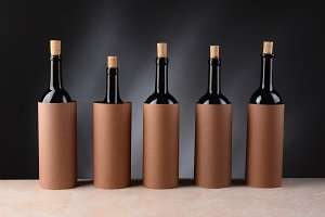 5 Bottles for a Blind Wine Tasting