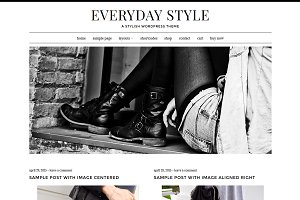 Everyday Style WordPress Theme