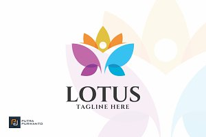 Lotus - Yoga Logo Template