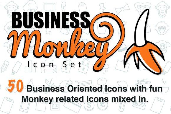 The Business Monkey Icon Set
