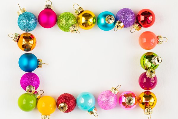 Christmas Ornament Bauble Mockup