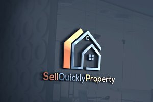 Sell Quickly Property  Logo Template
