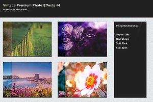 Vintage Premium Photo Effects #4