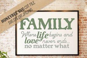 Family Love Never Ends