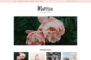 Responsive Blogger Template -Marissa