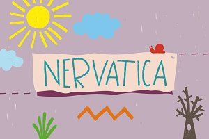 Nervatica Font Family
