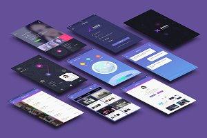 xJobs  (App UI)