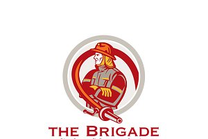 Brigade Emergency Fire Services Logo