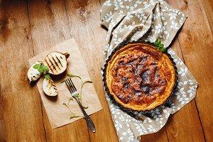 Onion Pie or Tart