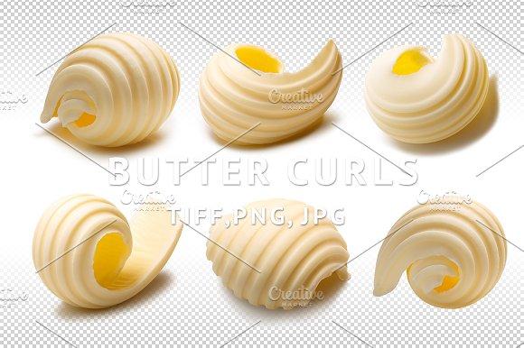 Butter Curls Set