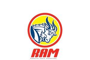 Ram Computer Parts Logo