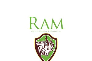 Ram Alpine Clothing Logo