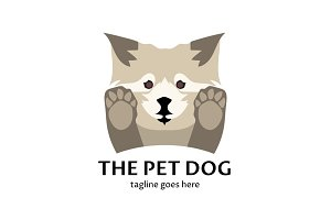 The Pet Dog Logo