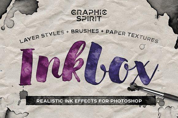 INKBOX: Realistic Ink Effec-Graphicriver中文最全的素材分享平台