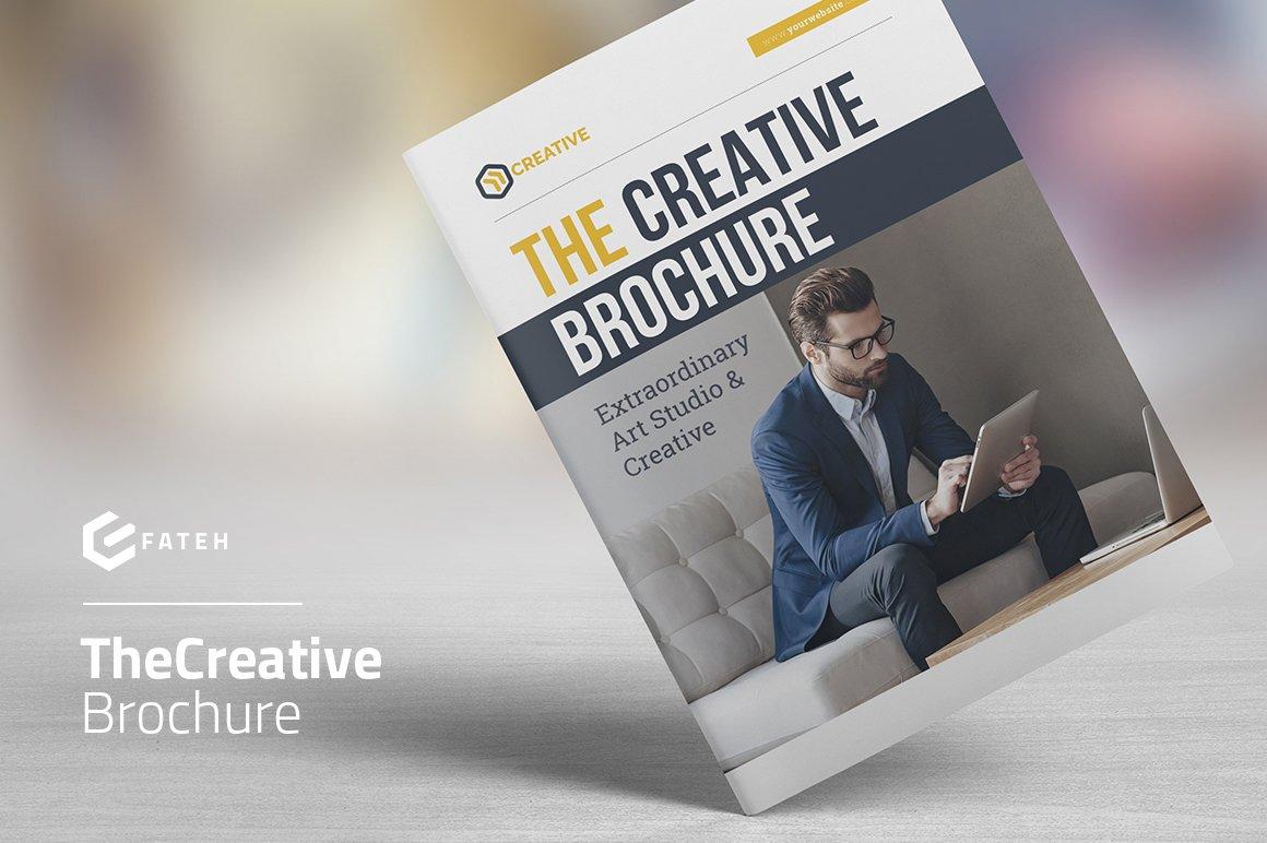 the creative brochure brochure templates creative market