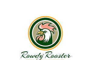 Rowdy Rooster Fried Chicken Logo