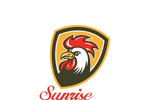 Sunrise Fried Chicken House Logo
