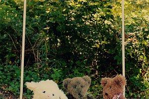 Three Stuffed Friends