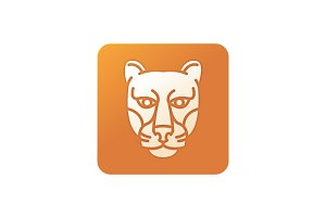 big cat icon