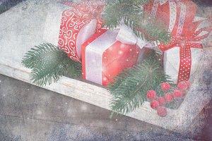 Cristmasa gift box