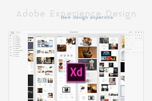 4ocal Web UI Kit for Adobe XD