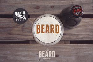 Beer Head   Logo Mockup
