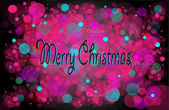 Merry Christmas Background Pink