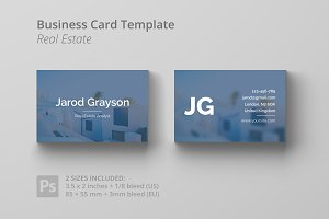 Business Card Template - Real Estate
