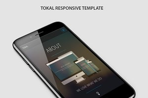 Tokal Responsive Bootstrap template