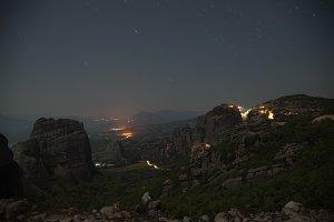 Meteora at Night