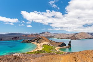 Amazing view in Galapagos Islands