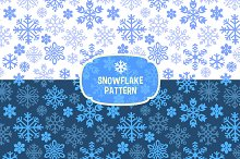 Snowflakes Patterns Sets