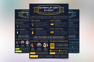 Startup Day Event Flyer
