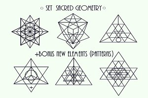 Set sacred geometry + Bonus