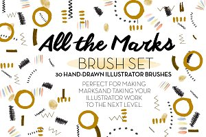 Making the Mark DOODLE BRUSH Set
