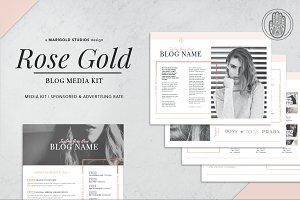 ROSE GOLD | Blog Media Kit