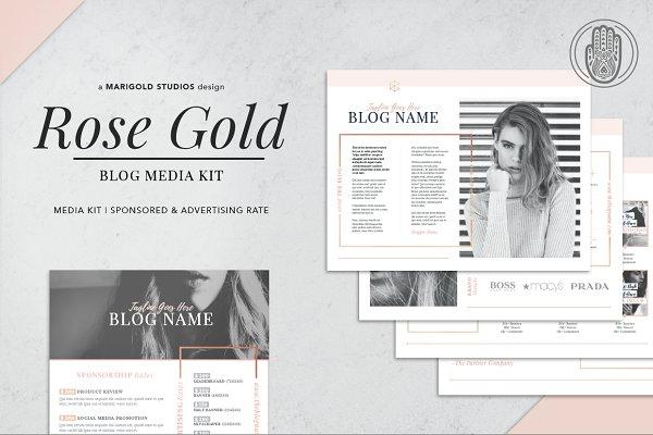 ROSE GOLD | Blog Media Kit