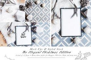 20 Christmas Styled Stock & Mock Ups