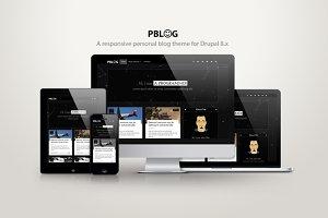 Pblog - A personal blog theme