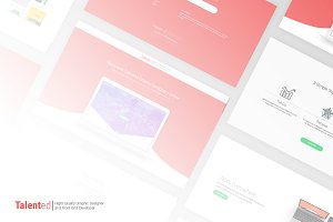 Talented - HTML Template with Sketch