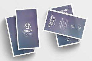 Polon - a Business Card Template