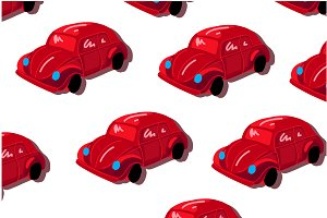 Beetle car pattern