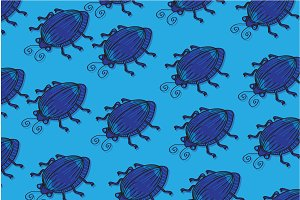 Beetle pattern