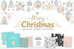Christmas Set: Objects & Patterns